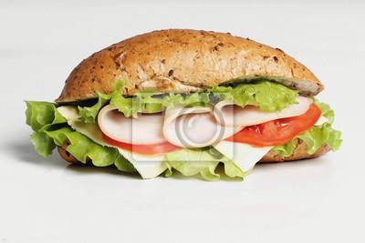 Canvas print Long sandwich