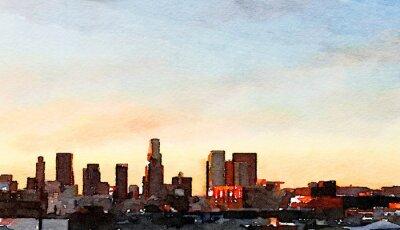 Canvas print Los Angeles