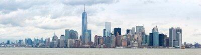 Canvas print Lower Manhatta NYC  Panorama