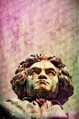 Canvas print Ludwig van Beethoven
