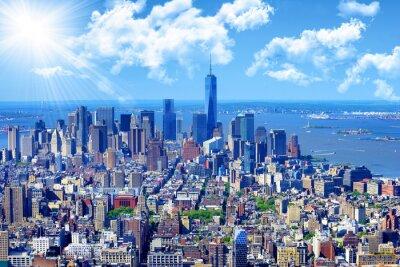 Canvas print Manhattan skyline