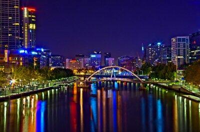 Canvas print Melbourne View 18