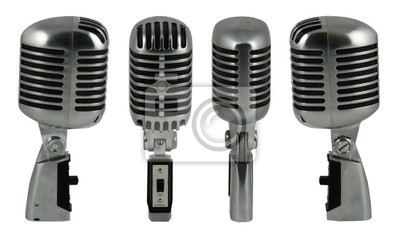 Canvas print microphone 1