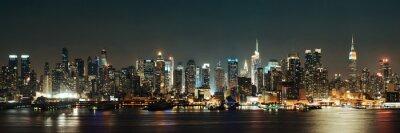Canvas print Midtown Manhattan skyline