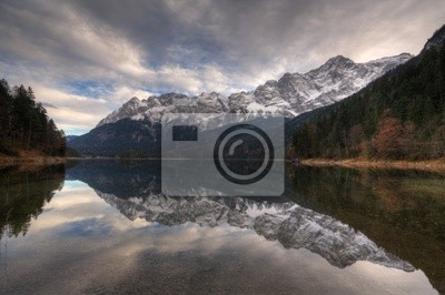 Canvas print Mirrored
