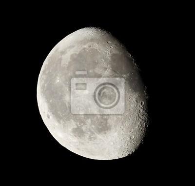 Canvas print moon