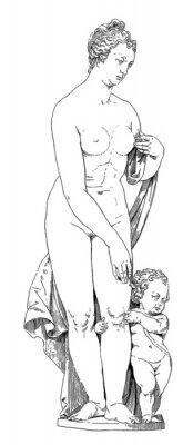 Canvas print Mother & Child