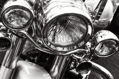 Canvas print Motorcycle