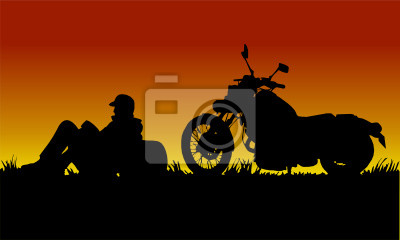 motorcyclist to tramonto1