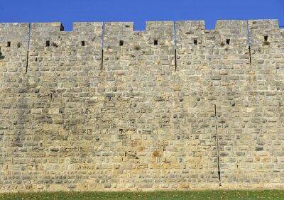 Canvas print Muro del castello.