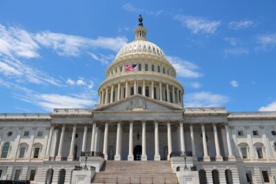 Canvas print National Capitol, Washington DC