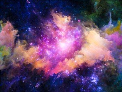 Canvas print Nebula Design