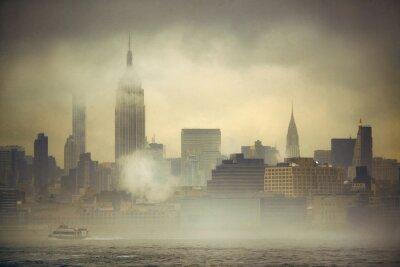 New York City fog