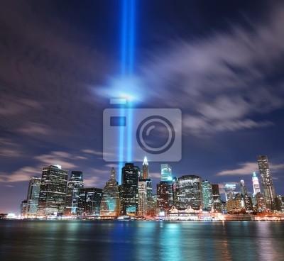 Canvas print New York City Manhattan skyline