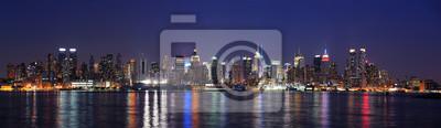 New York City midtown Manhattan