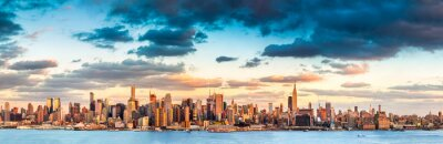 Canvas print New York City panorama