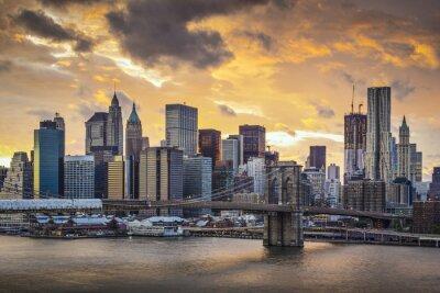 Canvas print New York City Skyline