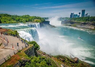 Canvas print Niagara falls