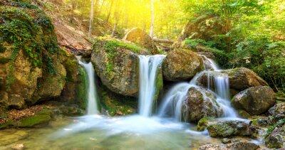 Canvas print Nice waterfall