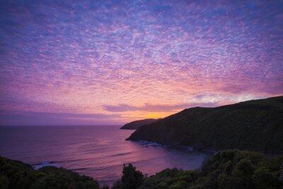 Canvas print Nugget Point Catlins Neuseeland am Abend