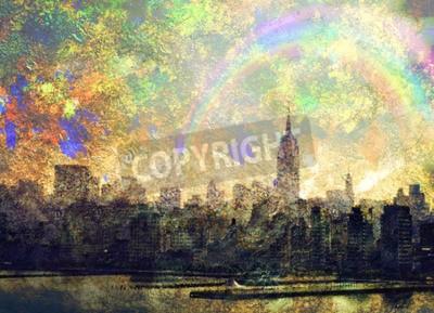 Canvas print NYC