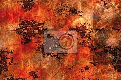 Canvas print oil