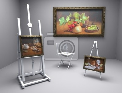 oil pictures in atelier 8