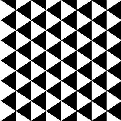 Canvas print Optical illusion background