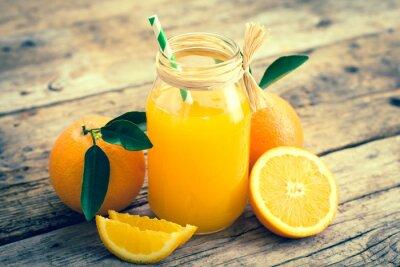 Canvas print Orange juice