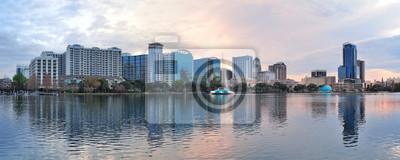 Canvas print Orlando panorama