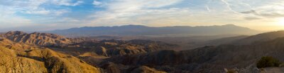 Canvas print Panoramic View of Desert Landscape