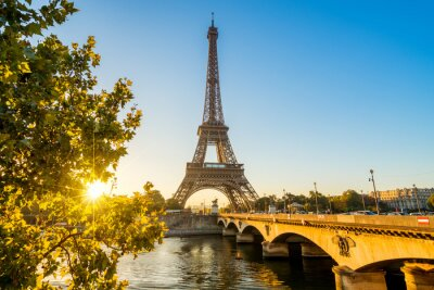 Canvas print Paris Eiffelturm Eiffeltower Tour Eiffel
