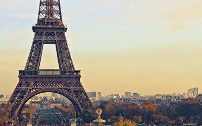 Canvas print paris france eiffel tower