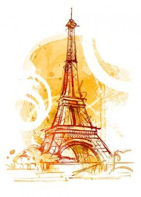 Canvas print Paris Summer