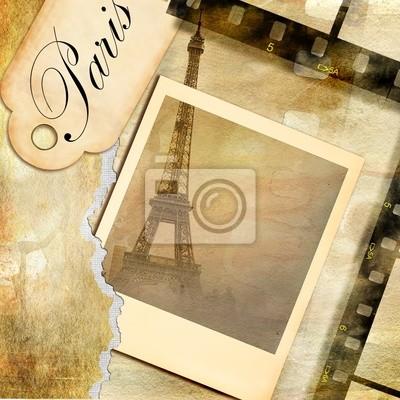 Parisian pictures - vintage photoalbum