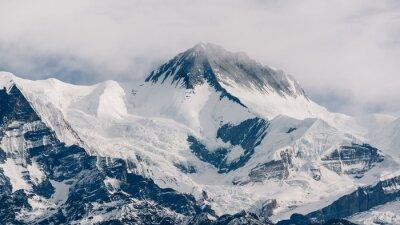 Canvas print Peak in Nepal