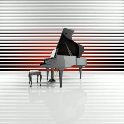Canvas print Piano, Flügel, Bühne, Star, Talent