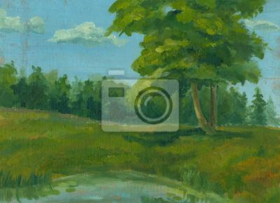 Canvas print picture