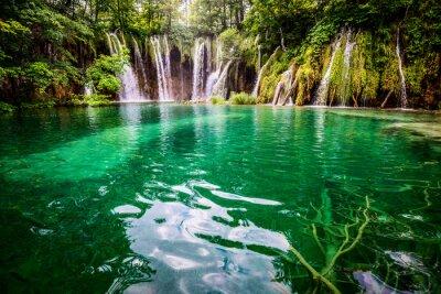 Canvas print Plitvicka jezera national park Croatia