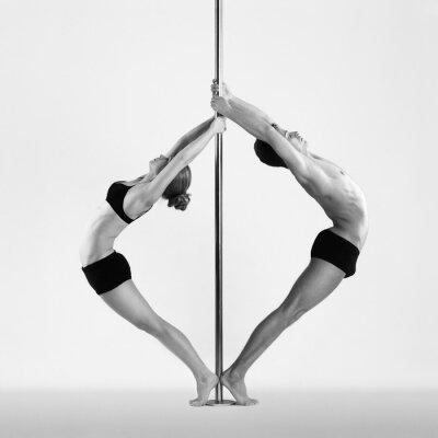 Canvas print Pole dance