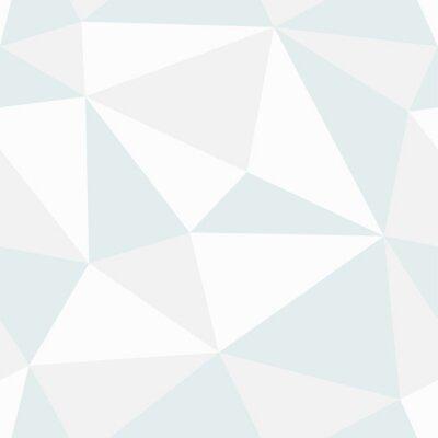 Canvas print Polygonal seamless pattern