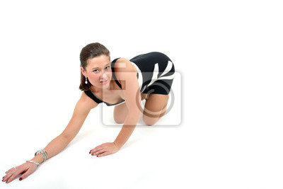 Canvas print pose