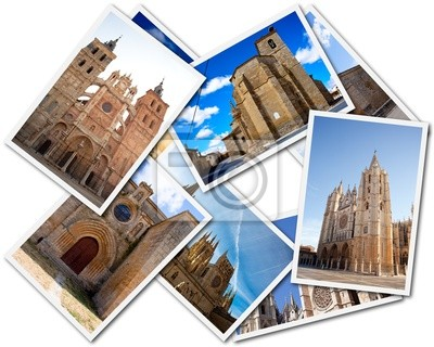 Postcards of the Spanish Cathedrals