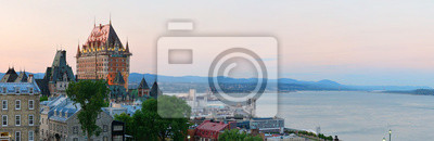 Canvas print Quebec City