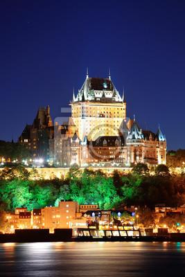 Quebec City at night