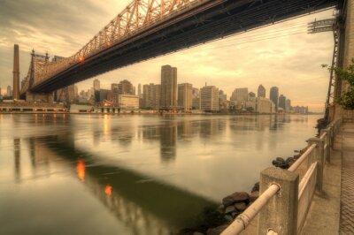 Canvas print Queensboro Bridge