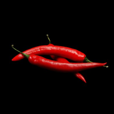 Canvas print red hot chili peppers