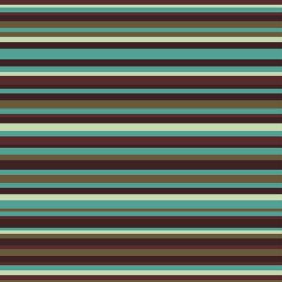 Canvas print Retro seamless stripe pattern vintage colors background