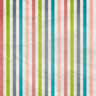 Canvas print Retro stripe pattern - background with colored pink, cyan, grey,