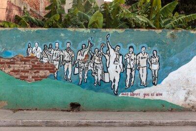 Canvas print Revolution, Cuba